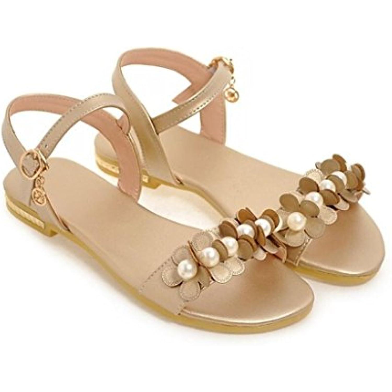 xie  s d'été/ApparteHommes ts pour Dames/Fleurs de Perles/Confortables, B07G8XDVSX Shopping/Tous Les Jours/école, 1cm,... - B07G8XDVSX Perles/Confortables, - 0e5ff1