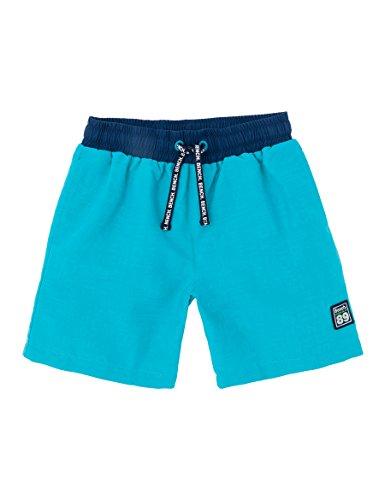 Bench Jungen Secret AOP Boardshort Badeshorts, Blau (Bluebird BL154), 116 (Herstellergröße: 5-6)