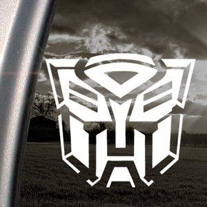 Adesivo per finestrino di auto o camion, con logo della fazione degli Autobot, personaggi dei Transformers