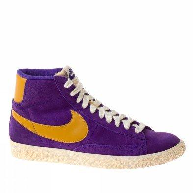 Nike Blazer Mid Suede Vintage Womens Schuhe Sneaker / Schuh - violett - SIZE EU 39 (Suede Womens Blazer)