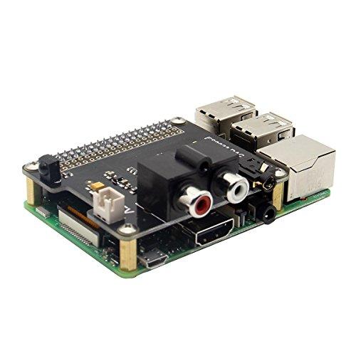 Scheda Di Espansione X900 Hifi Dac Es9023 Per Raspberry Pi 3 Modello B / 2B / A + / Zero W Ladicha