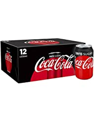 Coca-Cola Zero Sugar Drink, 12 x 330 ml