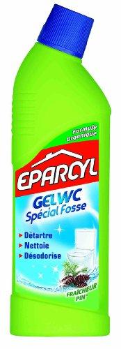 Eparcyl - 30141 - Eau Ecarlate - Clarcyl Gel WC Fraîcheur Pin - Flacon 750 ml