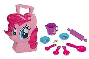 Jamara 410101 Pinkie Pie - Juego de Utensilios de Cocina para niños (10 Piezas), diseño de My Little Pony, Color Rosa