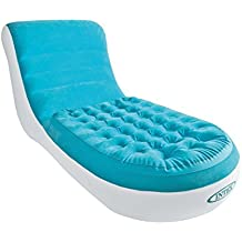 Intex Splash Lounge - Sillón cama, 84 x 170 x 81 cm, color azul