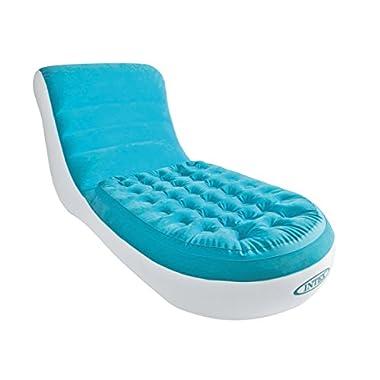 Intex 68880NP Aufblasmöbel Splash Lounge, Mehrfarbig, 170 x 84 x 81 cm