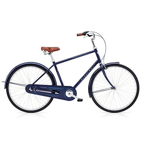 Electra Amsterdam Original 3i Herren Fahrrad Blau Metallic Stadt Holland Rad Retro, 73120001215