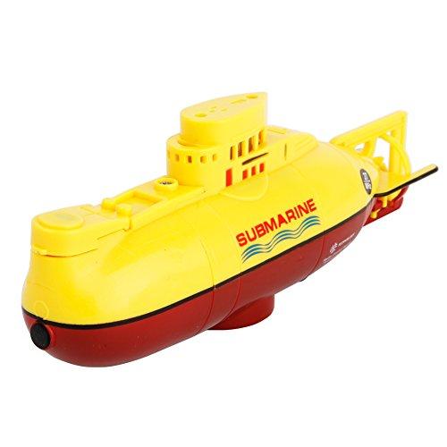 CLCYL Submarine Toys/Children ' S Wireless Remote Control Boat Toys Remote Control 2.4g Wasserdichte Fernbedienung Kinderwagen sind Zwei Farben,Yellow Marine Wireless Remote