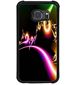 ColourCraft Lovely Digital Design Back Case Cover for SAMSUNG GALAXY S6