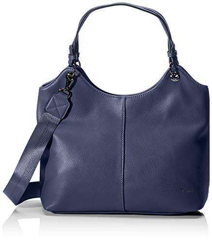 Tom Tailor Denim Damen Kira Tote, Blau (Blau), 35x27x11.5 cm