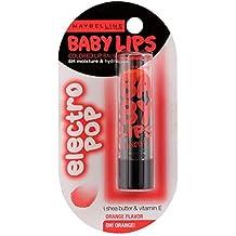 Maybelline New York Baby Lips Electro, Oh Orange, 3.5g