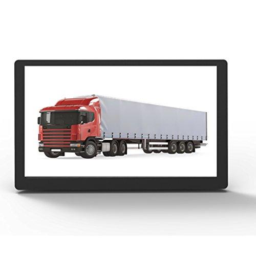 CARRVAS 9 Zoll LKW Navigationsgerät navigationssystem Europa Traffic GPS Navigation für Auto PKW mit kostenlosen lebenslangen Kartenupdates (9inch T900)
