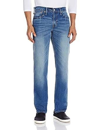 Levi's Men's 511 Classic 5 Pkt Slim Fit Jeans (6901163742810_18298-0205_38W x 34L_Light Indigo)