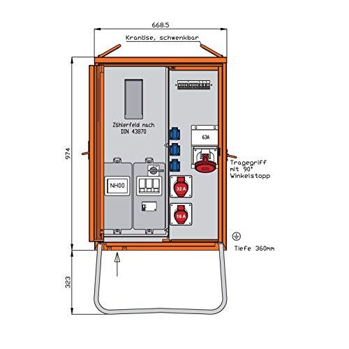 Walther Werke Anschlussverteilerschrank WAV0160R1