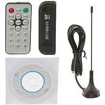 MagiDeal USB DVB-T & RTL-SDR Realtek RTL2832U & R820T DVB-T Sintonizador de Entrada de Receptor MCX