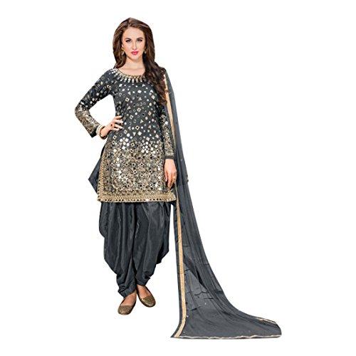 ETHNIC EMPORIUM erdefinierte zu messen Indian Patiala Designer Punjabi Salwar Anzug traditionellen Frauen kleiden ethnischen neuesten 855 Patiala Suit