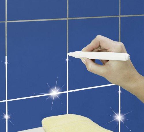WENKO 7900500 Fugenstift  - 2er Set, einfache Handhabung, Metall, 1.5 x 14.2 x 1.5 cm, Weiß