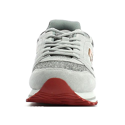 Lotto Trainer VIII TWD, Chaussures de Sport Homme Gris / marron (gris opale (grey opal) / marron toffee (brown toffee))