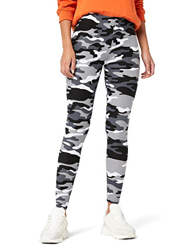 Urban Classics Ladies Leggings, (Snow Camo 787), X-Small para Mujer