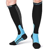 Satinior Kompression Socken Strümpfe (10-20mmHg) für Männer und Damen, Sport Strümpfe Geeignet für Laufen, Flug... preisvergleich bei billige-tabletten.eu