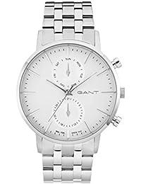 GANT TIME Herren-Armbanduhr PARK HILL DAY-DATE Analog Quarz Edelstahl W11205