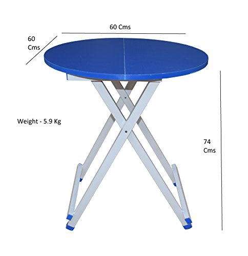 6c6a33f6e PORTABLE AND STURDY - This light weight table can be folded into half it s  size. This makes it extremely easy to carry around. The compact design does  not ...