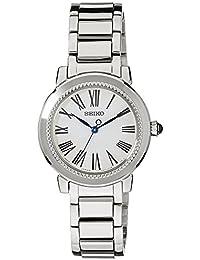 Seiko–Reloj de pulsera analógico para mujer cuarzo acero inoxidable srz447p1