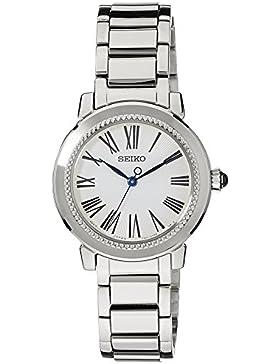Seiko Damen-Armbanduhr Analog Quarz Edelstahl SRZ447P1