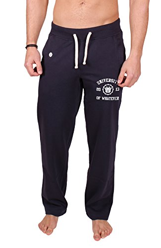 University of Whatever Beste Herren Baumwollhose Marineblau L (FR600) (Abercrombie & Hose Fitch)