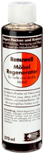 Renuwell Moebelregenerator Möbelreinigung, 2er Pack (2 x 270 ml)