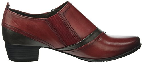 Jana 24324, Bottines Femme Rouge (BORDEAUX 549)
