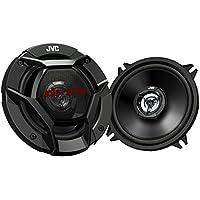 JVC CS-DR520 - Altavoces de coche (coaxiales de 2 vías, 260 W pico / 40 W RMS de potencia, 13 cm) negro