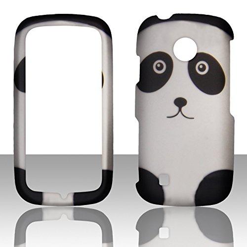2D pandaa Design LG Cosmos Touch, stimmten, VN270, MN270Verizon Schutzhülle Handy Hard Cover Fall Blenden (Handys Wireless Verizon Lg)