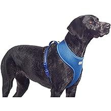 Ancol comodidad arnés del perro de malla, tamaño mediano, color azul