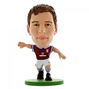 Aston Villa F.C. SoccerStarz Albrighton- Marc Albrighton- soccerstarz figure- 2 inches tall- with collectors card- in blister pack- official licensed product