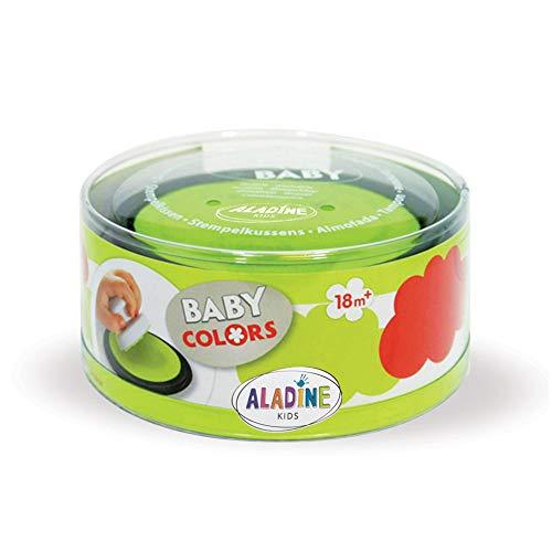 Aladine 03852 - Stampobaby, 2 Stempelkissen, rot/Anis grün -