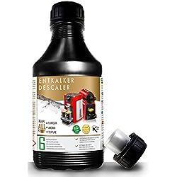 Decalcificante Naturale 500 ml, per Macchine Caffè. Tutte le marche, Nespresso, Krups, DeLonghi....6 decalcificazioni.