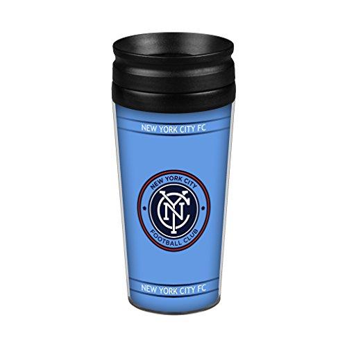 Boelter Brands MLS New York City FC Full Wrap Reise Tumbler, 14-Ounce (City Tumbler New York)
