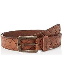 Wrangler Men's Diamond Belt Brown Belt