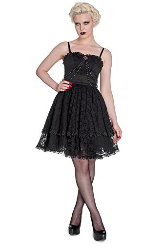Spin Doctor dell'abito ZYLPHIA DRESS 4367 nero Large