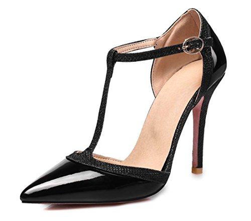 Cinturino Scarpe Bellezza Donna Da Quotidiane Con Sandali T Scarpe Di Da Sandali Calzature Black Da Donna A Sposa 5xpYatwqEn