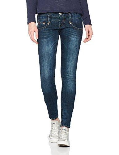 Herrlicher Pitch Slim, Jeans Donna Blau (POSH 711)