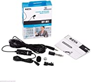 BOYA BY-M1 Omnidirectional Lavalier Microphone for Canon Nikon Sony DSLR Camcorder Audio Recorders iPhone 6 5S