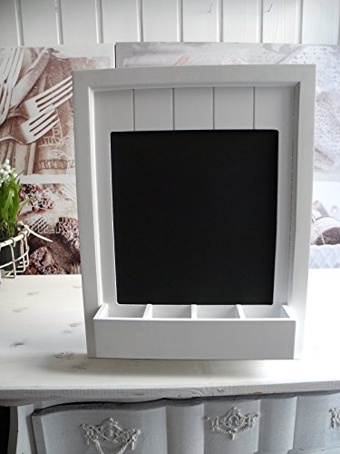 Shabby Chic Vintage Hanging Chalkboard Blackboard With Chalk Tray by Carousel Home Carousel Tray