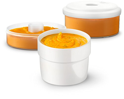 Philips Avent SCF876/02 Babynahrung Aufbewahrungsbehälter, weiß - 3