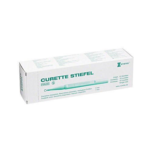 Curette Stiefel Ø 7mm 10 Stück