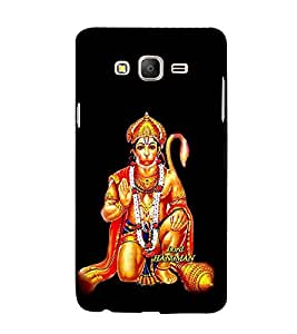 Fabcase Lord Hanuman Abstract Designer Back Case Cover for Samsung Galaxy On7 Pro :: Samsung Galaxy On 7 Pro (2015)