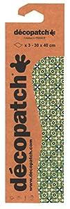Décopatch Ocio creativo –Paquete de 3hojas iguales para pegar