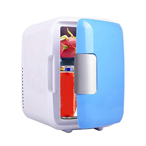 Salida - Mini frigorífico eléctrico para nevera y calentador (AC/DC, portátil, termoeléctrico),...