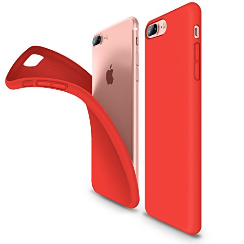 iphone 8 plus coque rouge